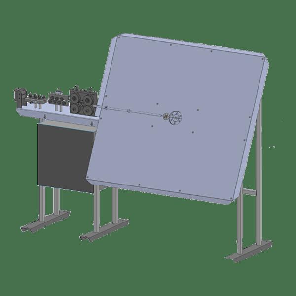 Станки серии GSN-2D-CNC для 2D гибки проволоки Ф 2 – 6(8) мм ЧПУ + панель оператора