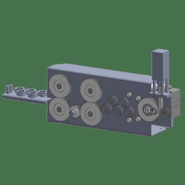 Станки серии GSN-HDP для 2D гибки проволоки Ф 2 – 4 мм.
