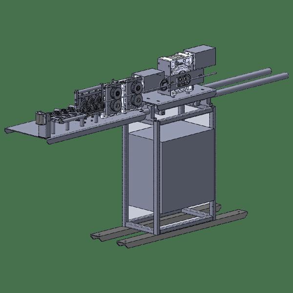 Станки серии GSN-2D12-CNC для 2D гибки проволоки Ф 2 – 12  мм ЧПУ + панель оператора